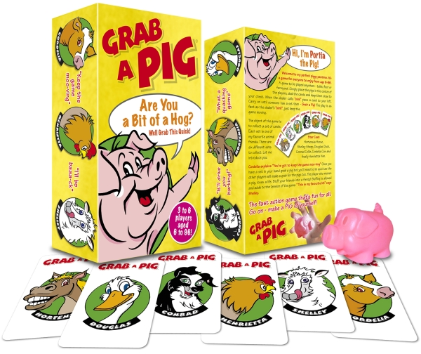 Grab a Pig game play